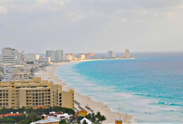 View from Secrets The Vine Cancun.