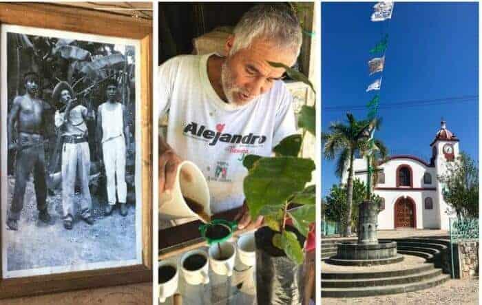 Coffee tasting in historic Pluma Hidalgo