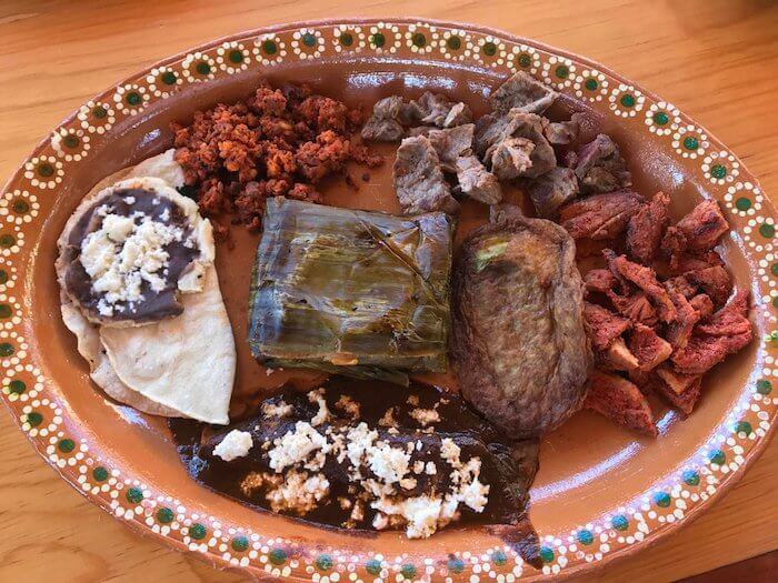 Enjoy authentic Oaxacan lunch at Finca Don Gabriel Pluma Hidalgo