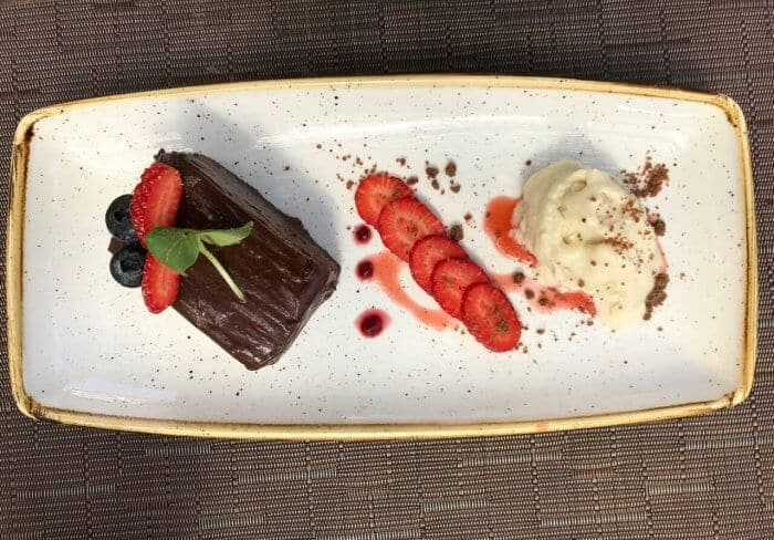 Oaxacan chocolate cake Vivo Resorts