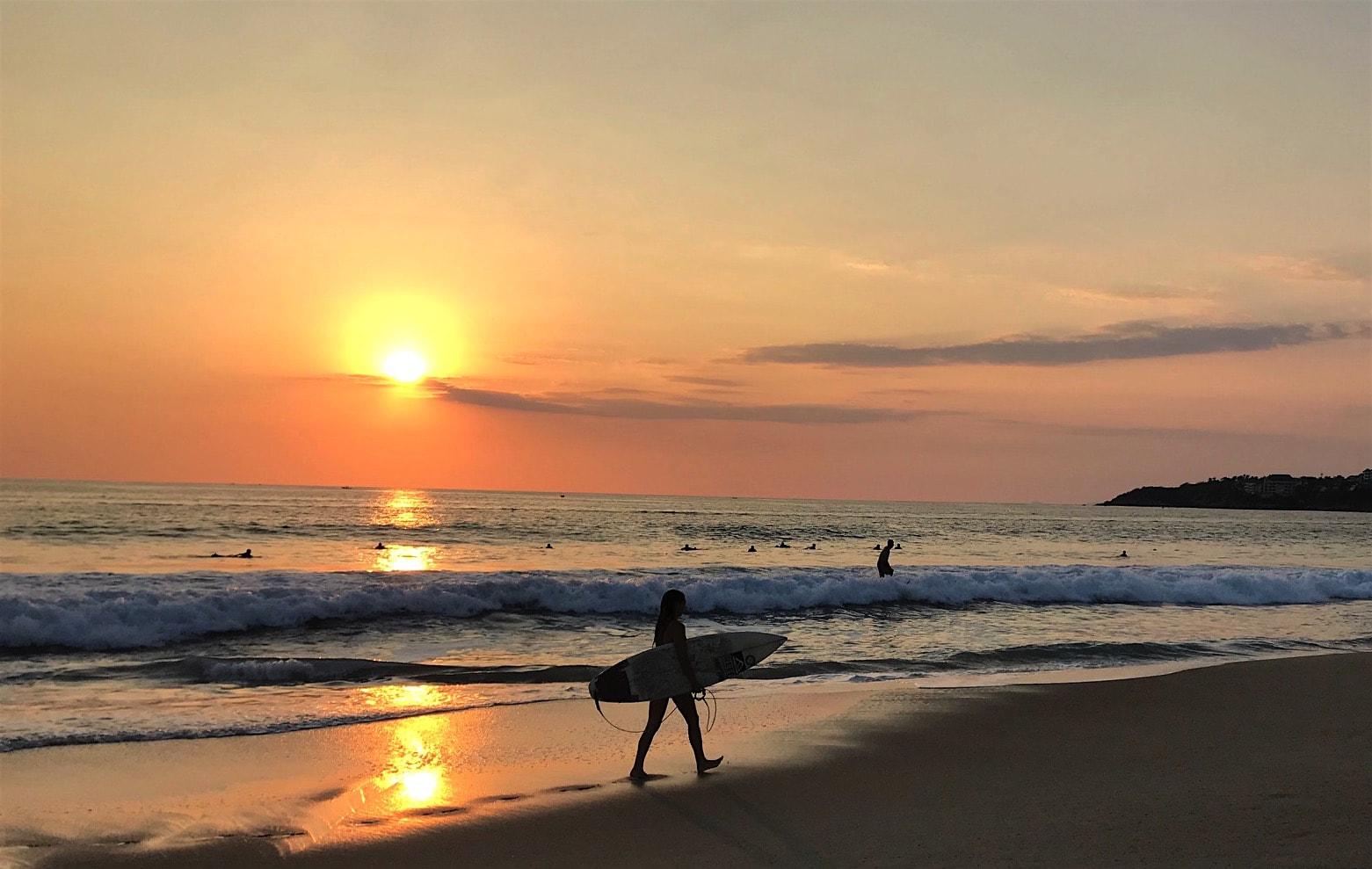 Sunset in Puerto Escondido