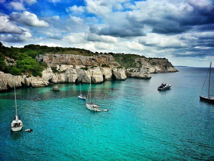 Sailing Menorca with Nautel Boat Rentals