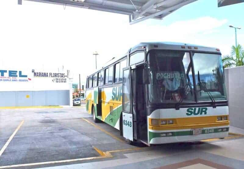 Sur Bus in Oaxaca Mexico