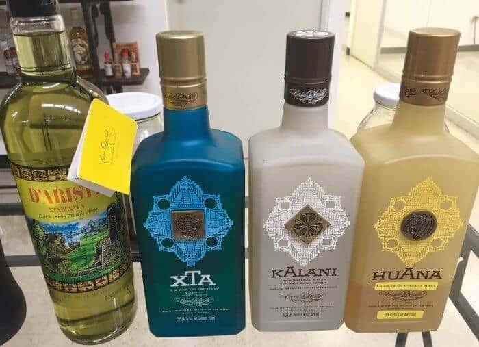Bottles of Xtabentun Credit Francisco Javier Sanchez
