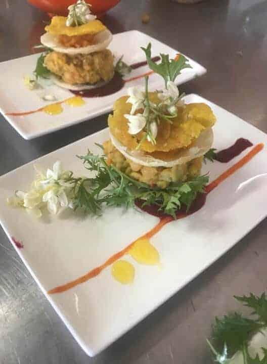 cuisine at top restaurants in Aruba