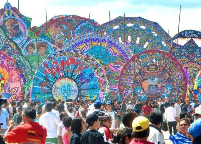 Sumpango Giant Kite Festival in Guatemala