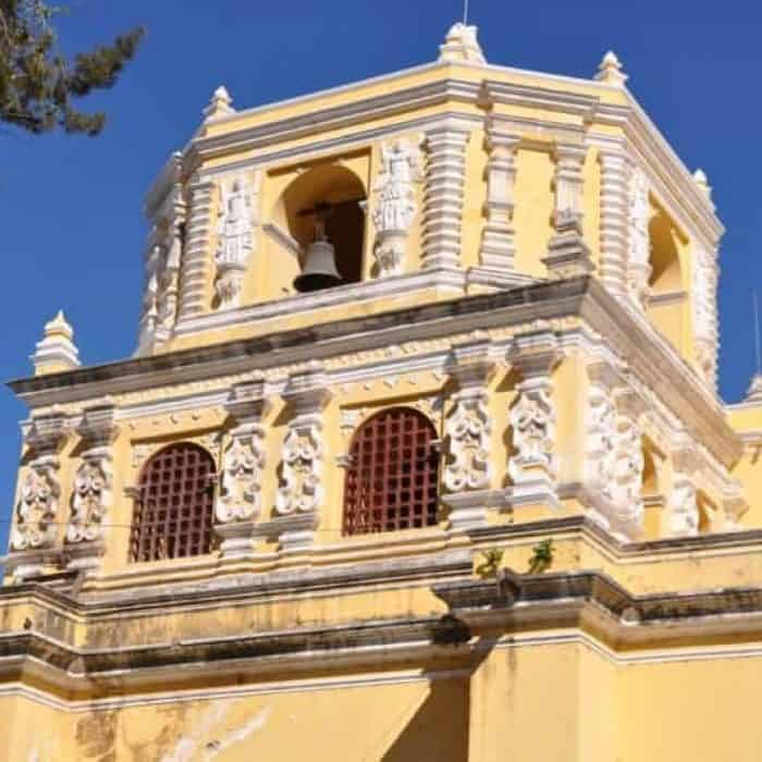 La Merced Church in Antigua Guatemala.