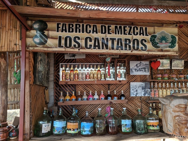 Los Cantaros Mezcaleria in Puerto Escondido Credit Sue Campbell