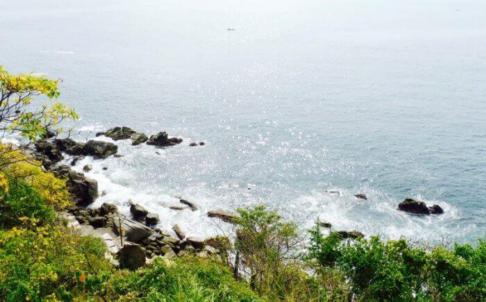 Pacific Ocean from La Escondida