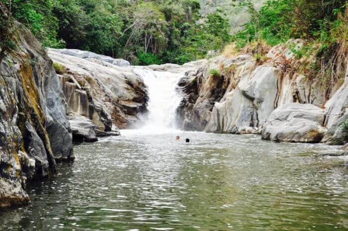 Waterfall at Pasabien Easter in Guatemala