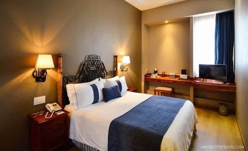View of guest room at ZOCALO CENTRAL by A WORLD TO TRAVEL - ALL RIGHTS RESERVED