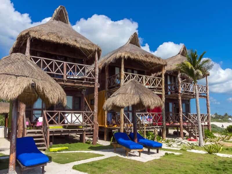El Pez cabanas in Tulum, Mexico. Credit XYUandBEYOND