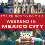Weekend in Mexico City for Pinterest.