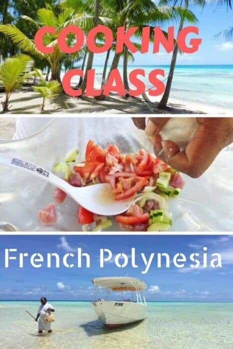 Take a poisson cru cooking class at Tikehau Pearl Beach Resort