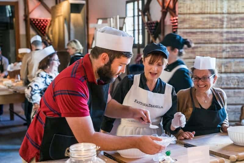 Cooking class in Tuscany with Insight Vacations Luxury Gold