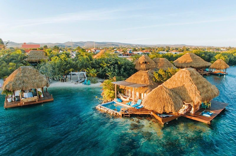 Drone view of Aruba Ocean Villas Credit Patrick Jansen.