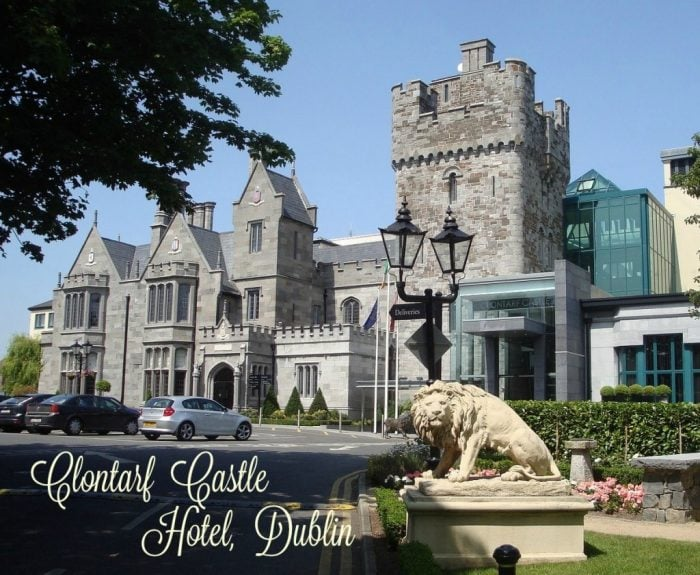 Clontarf Castle Hotel near Dublin Credit- The Daily Adventures of Me