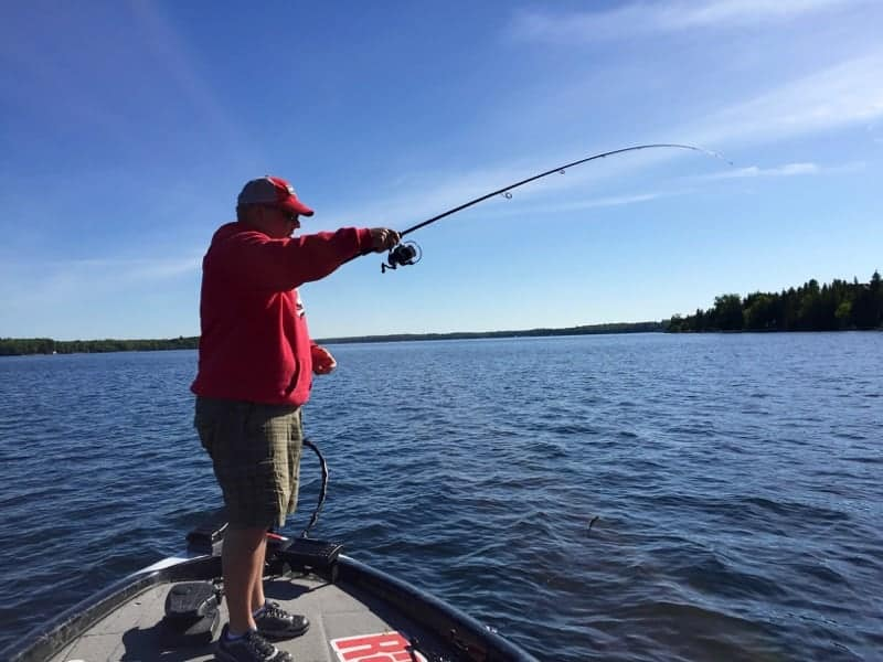 Fishing charter on Balsam Lake Kawartha Lakes Ontario