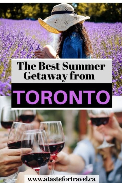 Best weekend getaway from Toronto