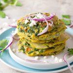 Tortitas de Berro con huevo- Guatemalan Watercress Fritters Recipe