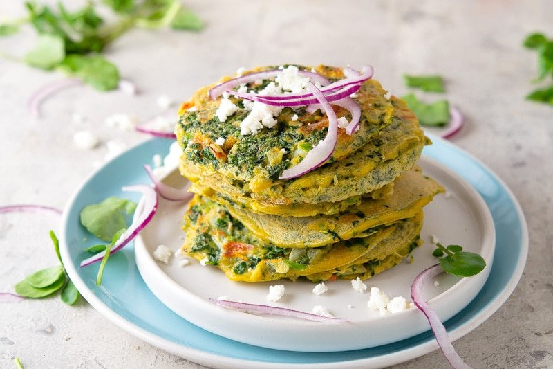 Tortitas de Berro - Guatemalan Watercress Fritters Recipe