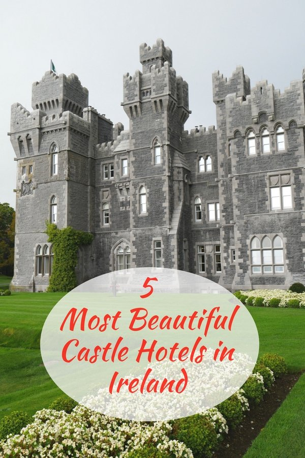 Which are the best castle hotels in Ireland? You'll definitely want to stay in one of these incredibly beautiful luxury castle hotels on your vacation in Ireland