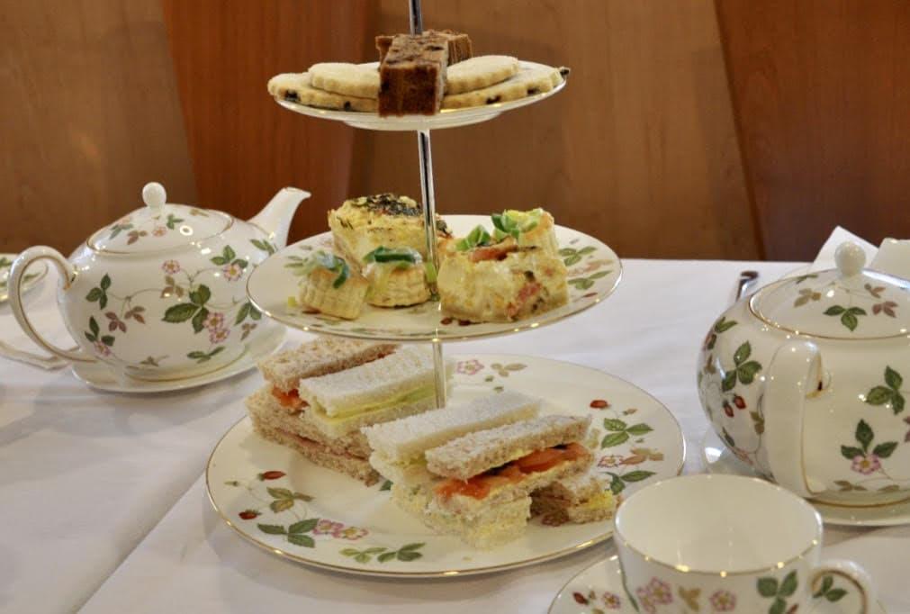 Afternoon tea on Wedgwood China