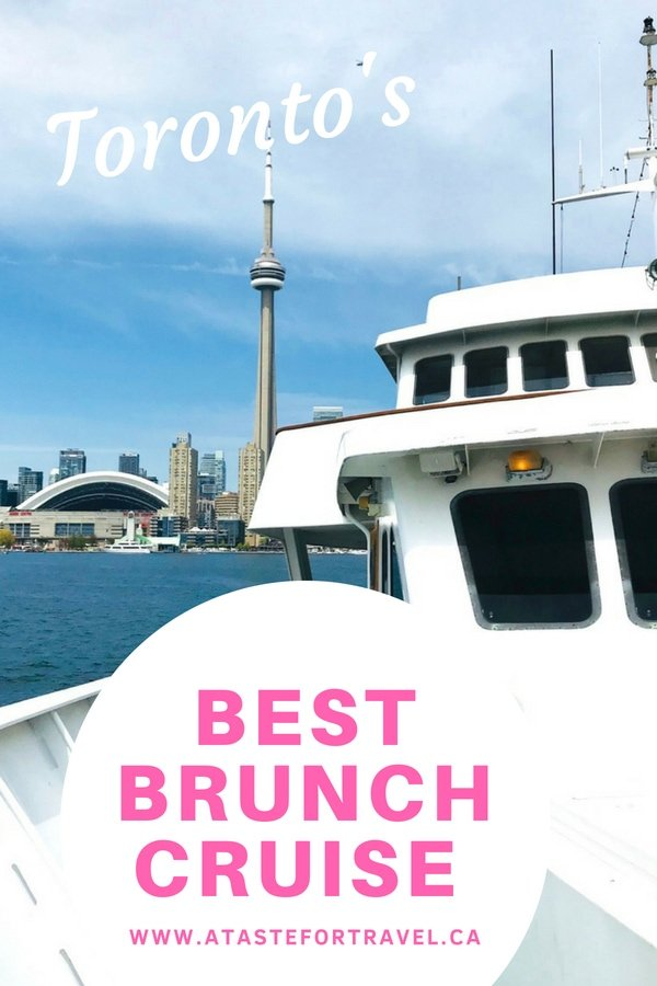 With its fantastic views of the skyline, the beautiful Toronto islands and sparkling Lake Ontario, taking a harbour boat cruise is one of the top things to do in Toronto.  Combine that with a Mariposa Cruises Brunch buffet and you get the best brunch with a view in Toronto