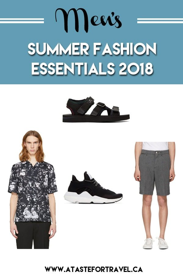 Top trends for Men's Summer Fashion Essentials 2018