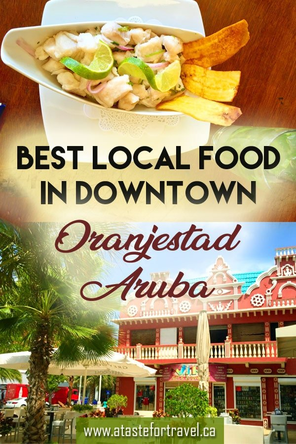 Avoid tourist traps and discover what and where to eat in downtown Oranjestad Aruba. From traditional snacks to coconut-scented Aruban coffee, our insider's guide offers the best restaurants, cafes, markets and food to go on this Dutch #Caribbean island. #Aruba