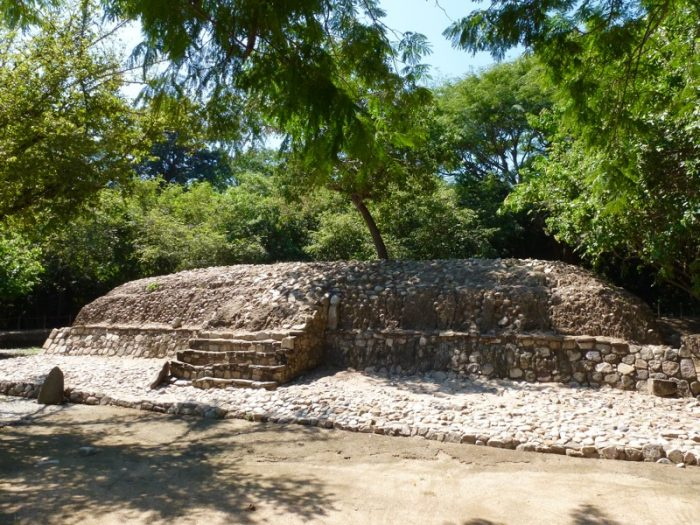 Copalita Archeological site in Huatulco