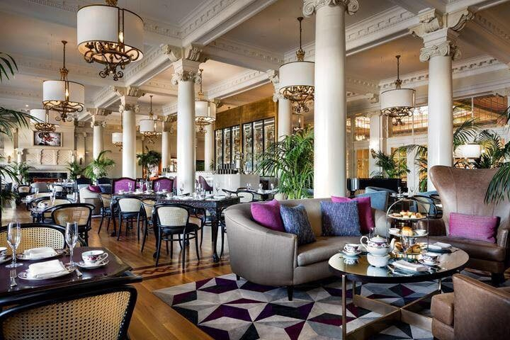 vegan afternoon tea in Victoria at Lobby Lounge Credit Fairmont Empress Victoria