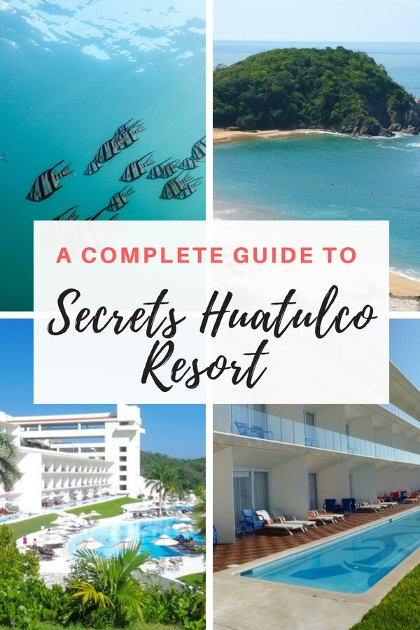 Tucked in a secluded bay at the end of a string of resorts in Huatulco Mexico, this luxury all-inclusive resort will make you swoon with its stunning views and dramatic architecture. Our insiders guide will give you tips on the best rooms, advice on swim-up suites, food and best things to do. Find out if Secrets Huatulco is for you! #Mexico