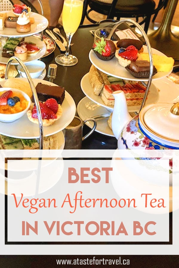 If you're looking for the best Gluten-free or Vegan Afternoon Tea in Victoria BC you won't be disappointed with high tea at the Empress Hotel Victoria #glutenfree #vegan