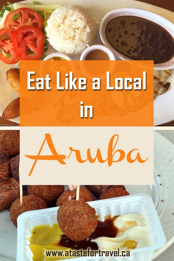 Avoid tourist traps and discover what and where to eat in downtown Oranjestad Aruba. From traditional snacks to coconut-scented Aruba coffee, our guide offers the best restaurants, cafes, markets and food to go on this Dutch #Caribbean island. #Aruba ,