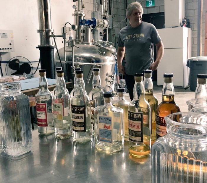 Last Straw Distillery makes a great stop for a couples weekend getaway in Ontario