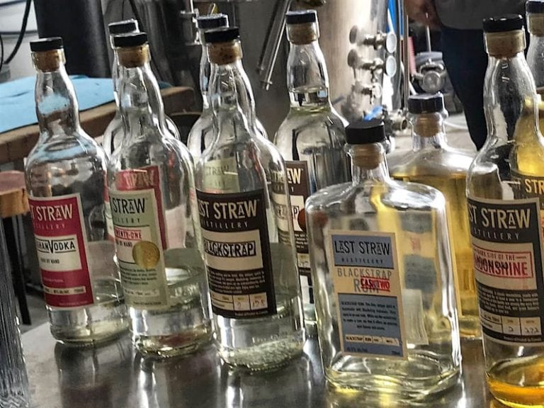 onshine at Last Straw Distillery