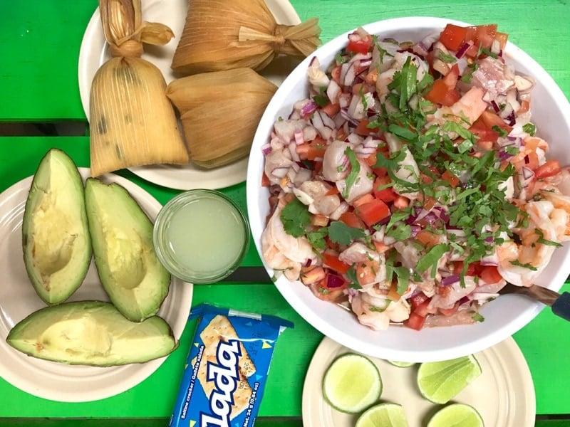 Ceviche Mixto Guatemalteco