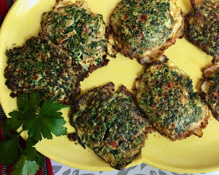 ry this delicious traditional recipe from Guatemala for Watercress Omelettes or Tortitas de Berro a healthy #vegetarian breakfast packed with vitamins and minerals #recipe