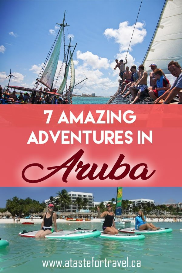 Outdoor adventure in Aruba