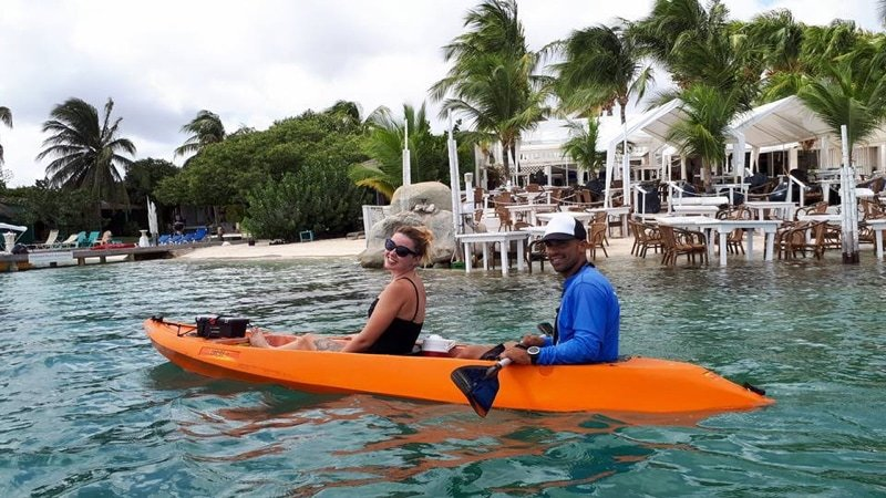 Clear Kayak Aruba Adventure