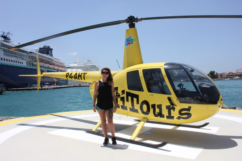 Helicopter Tour Aruba Credit JPC