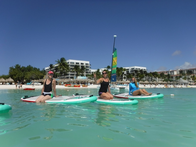 SUP Aruba Adventure Pilates