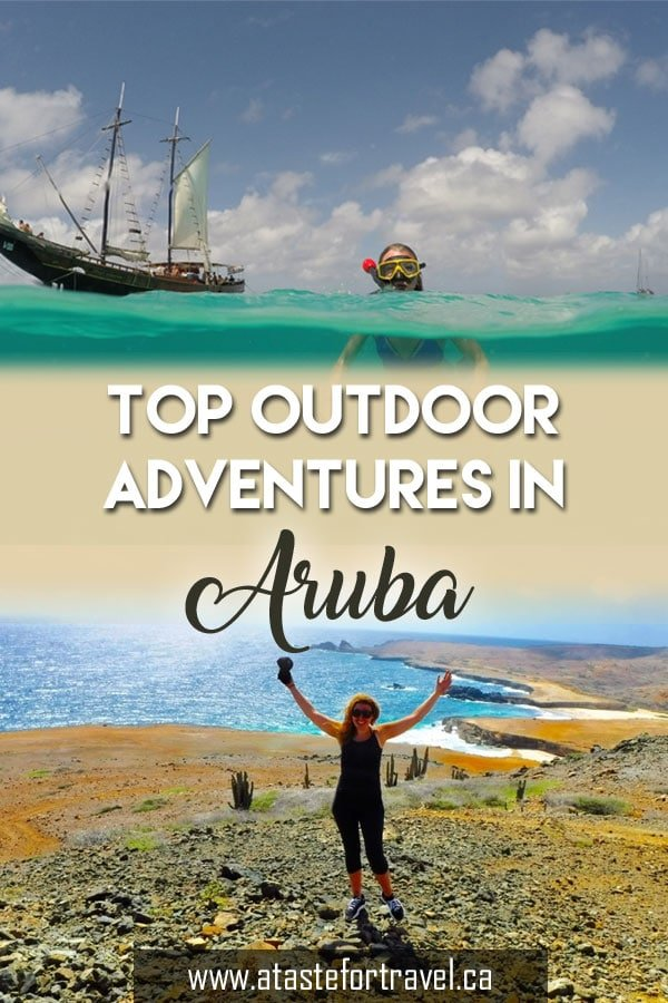 From snorkeling to kayaking, here are our picks for the best Aruba adventures to add to your beach vacation on Aruba #Caribbean