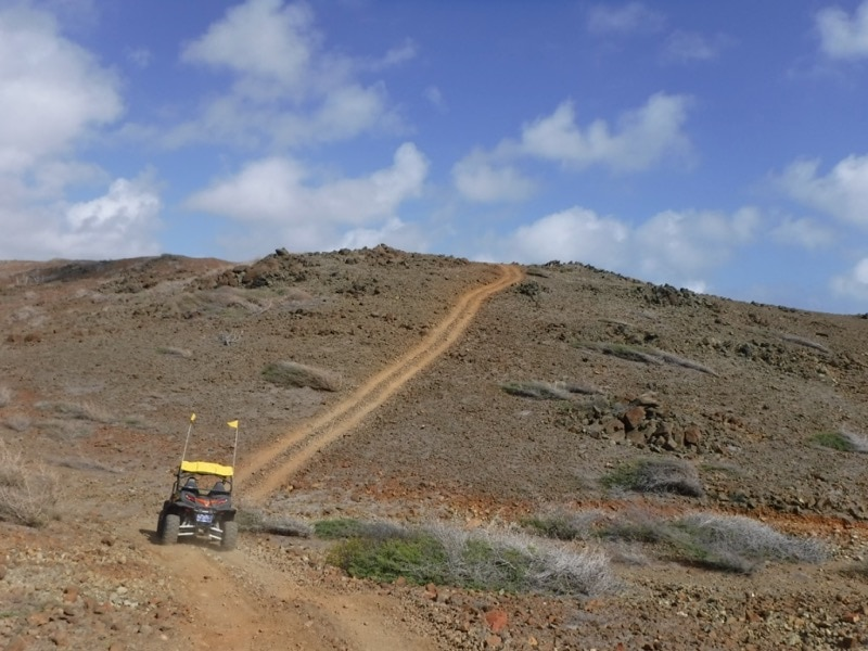 Go off road and see another side of Aruba