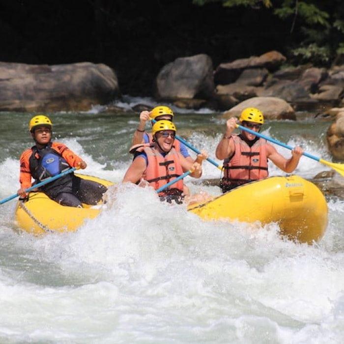 Whitewater rafting Huatulco Excursion Credit Aventura Mundo