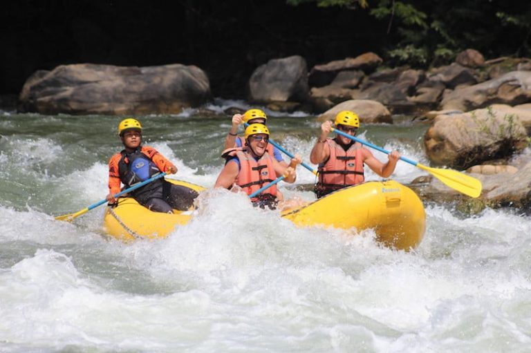 Whitewater rafting Huatulco Excursion Credit Aventura Mundo
