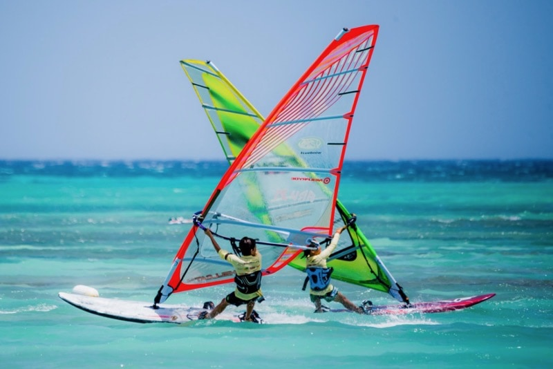 Windsurfing Best Aruba Adventures