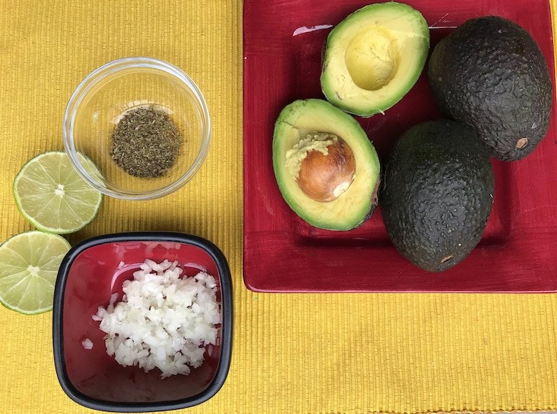 Oregano is the secret ingredient in authentic Guatemalan guacamole