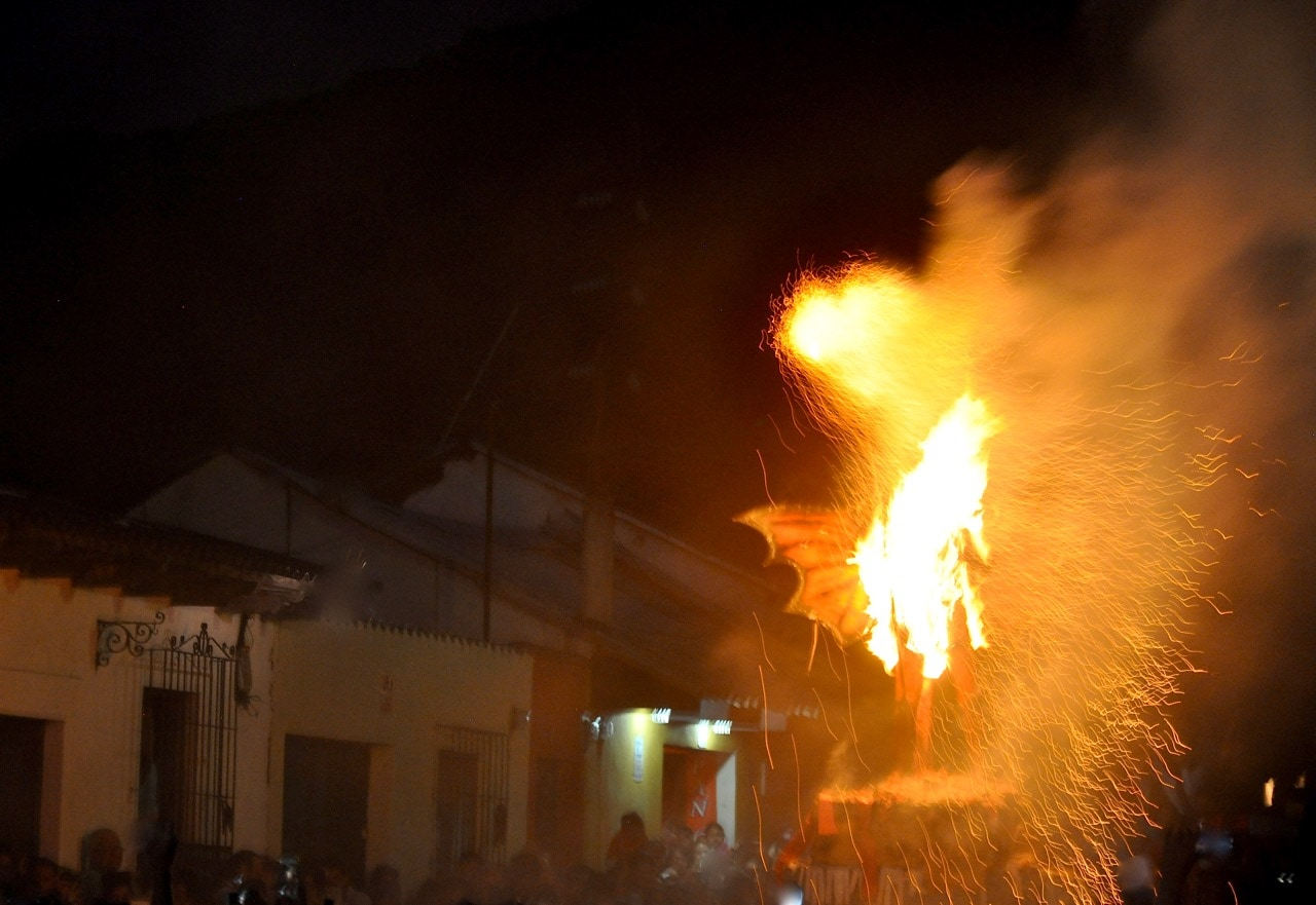 Burning of the Devil Guatemala festival in Antigua